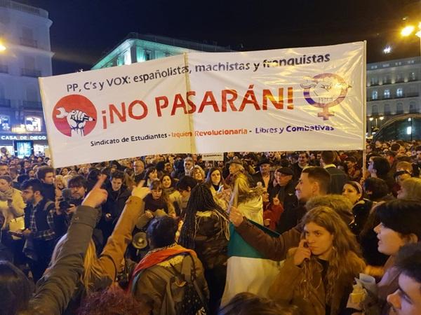 6 de març vaga general estudiantil: Fora el pin parental de l'extrema dreta!